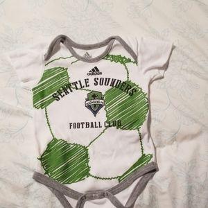 Adidas Seattle Sounders MLS bodysuit